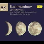Trio - Rachmaninov: Complete Operas / J&auml;rvi, et al