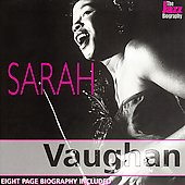 Sarah Vaughan: The  Jazz Biography