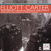 Carter: Piano Concerto, Three Occasions, etc/ Gielen, Oppens, et al