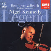 Legend - Beethoven, Bruch: Concertos / Kennedy