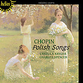 Chopin: Songs;  Chopin/Viardot: Four Mazurkas / Kryger
