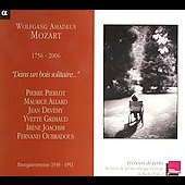 Mozart: Dans un bois solitaire, etc / Joachim, et al