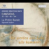 Bach: Sie werden aus Saba alle kommen, etc / Kuijken, et al