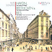 Haydn, Beethoven, Ries: Flute Sonatas / K. Sato, R. Batik