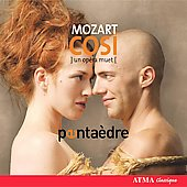Mozart: Così fan tutte - For WInd Quintet  / Pentaedre