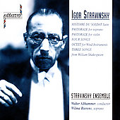 Stravinsky: Histoire du Soldat Suite, etc / Althammer, et al