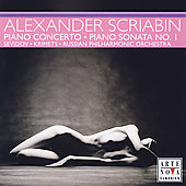Scriabin: Piano Concerto, Piano Sonata 1 / Sevidov, Sevidova