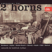 Concertos for 2 Horns / Tylsar, Belohl&#225;vek, Neumann, et al