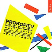 Classics - Prokofiev: Chout Suite Op 21a, Love for Three Oranges Suite Op 33a, etc / Neeme Järvi, Scottish NO