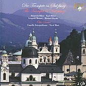 The Trumpet in Salzburg - Biber, L. Mozart, M. Haydn / Sauter, Matt, Capella Ostropolitana