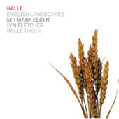 English Landscapes / Elder, Hall&eacute; Orchestra