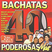 Various Artists: 40 Bachatas Poderosas