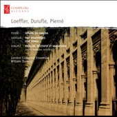 Piern&eacute;: Sonata da Camera; Loeffler: Two Rhapsodies; Five Songs
