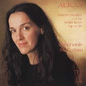 Alkan: Twelve Studies Opus 35 / Stephanie McCallum