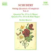 Schubert: String Quartets Vol 2 / Kodály Quartet