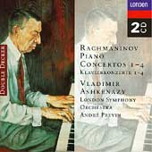 Rachmaninov: Piano Concertos 1-4 / Ashkenazy, Previn