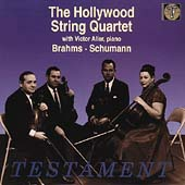 Brahms, Schumann / Hollywood String Quartet, Victor Aller