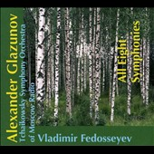 Alexander Glazunov: All Eight Symphonies