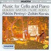 Music for Cello & Piano / Mikl&#243;s Per&#233;nyi, Zolt&#225;n Kocsis