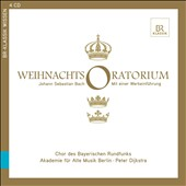 Bach: Christmas Oratorio / Peter Dijkstra. The Academy for Ancient Music