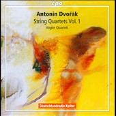 Dvor&aacute;k: String Quartets, Vol. 1 / Vogler Quartett