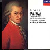 Mozart: The Piano Concertos / Ashkenazy, Philharmonia Orch