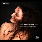 Biber: Passacaglia C. 105; Bartok: Sonata for solo violin Sz. 117; Berio: Sequenza VIII for violin;  Bach: Partita No. 2, BWV 1004 / Liza Ferschtman (violin)