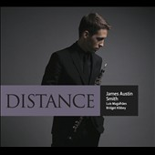 Distance - Chamber music with oboe by Hindemith, Vasks, Elliott Carter, Bach, Krenek, Schumann / James Austin Smith, oboe; Luis Magalhaes, piano; Bridget Kibbey, harp