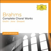 Collectors Edition: Brahms - Complete Choral Works / Barbara Bonney, Andreas Schmidt, Edith Mathis, Rudolf Scholz, Jan Schroeder [7 CDs]