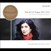 Johann Sebastian Bach: The Art of Fugue, BWV 1080 / Schaghajegh Nosrati, piano