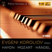 Piano Sonatas and Suites by Haydn, Handel & Mozart / Evgeni Koroliov, piano [4 CDs]