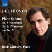 Beethoven: Piano Sonatas No. 8