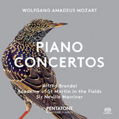 Wolfgang Amadeus Mozart: Piano Concertos Nos. 12 & 17 / Alfred Brendel, piano; Sir Neville Marriner, Academy of St. Martin in the Fields [Hybrid SACD]