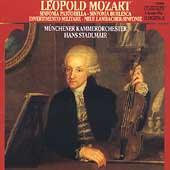 L. Mozart: Sinfonia Pastorella, etc / Stadlmair, Munich CO
