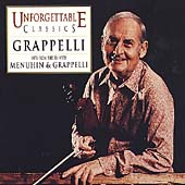 Unforgettable Classics - Grappelli - Hits from the 30s
