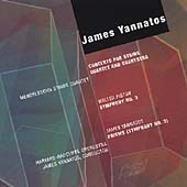 Piston: Symphony no 3;  Yannatos: Concerto, Prisms