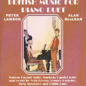 British Music for Piano Duet / Peter Lawson, Alan MacLean
