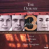 3 Friends - Krouse, Broughton / Debussy Trio
