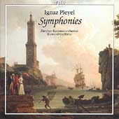 Pleyel: Symphonies / Griffiths, Zürich CO