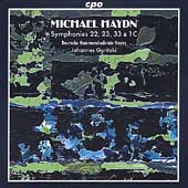 M. Haydn: Symphonies no 22, 23, 33 & 1C / Goritzki, et al