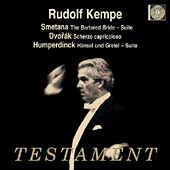Smetana: Bartered Bride Suite;  Dvorak, Humperdinck / Kempe