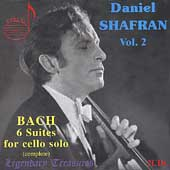 Daniel Shafran Vol 2 - Bach: 6 Suites for Cello Solo