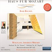 Haus f&#252;r Mozart / Bolton, Salzburg Mozarteum Orchestra
