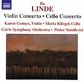 Linde: Violin, Cello Concertos / Gomyo, Kliegel, Gävle SO