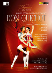 Elegance, The Art of Marius Petipa & Alexander Gorsky: Don Quichot. Music by Ludwig Minkus (live, Amsterdam Music Theatre, 2010) / Dutch National Ballet [DVD]