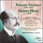Paolino Vassallo: Grande Mass / Buhagiar, Collegium Musicum