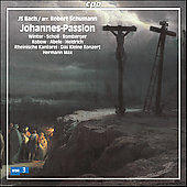 Bach: Johannes-Passion / Max, Winter, Scholl, Kobow, et al