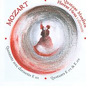 Mozart: Clarinet Quintet K 581, etc / Heau, Manfred String Quartet