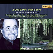 Haydn: The Seasons, H 21 no 3 / Norrington, Oelze, Weir, Lika, Europe CO, et al