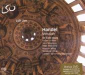 Handel: Messiah [Hybrid SACD] [includes DVD]